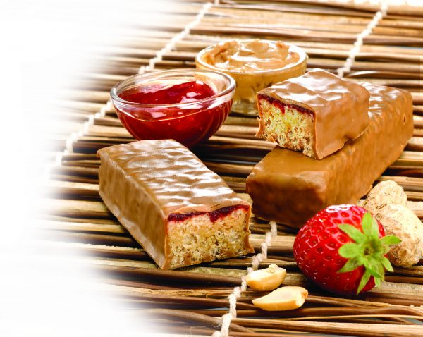 Protein bars old style strawberry (7/box)