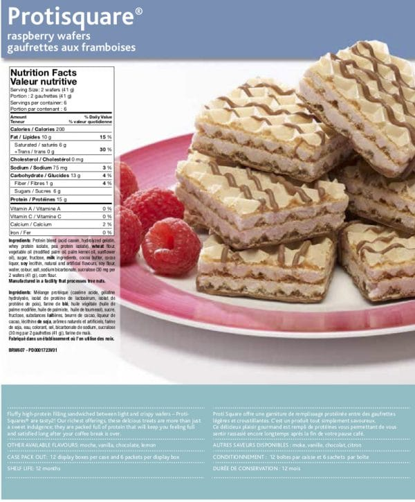 Wafers for weight loss (6/box)