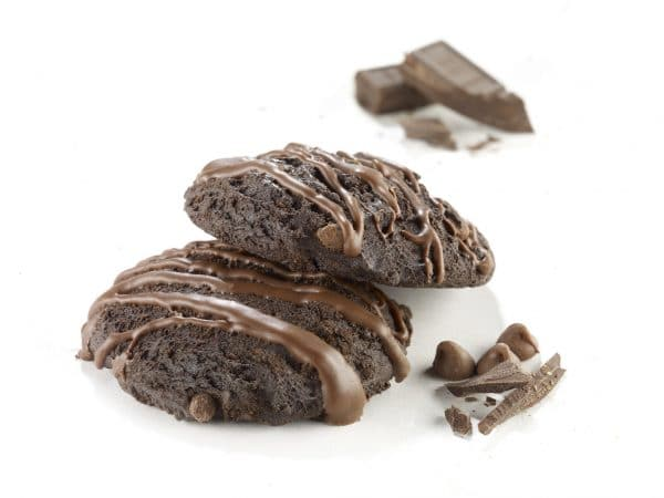 Healthy cookies triple chocolate (7/box)