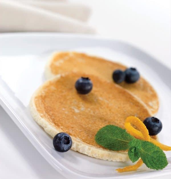 Protein pancakes blueberries (7/box)