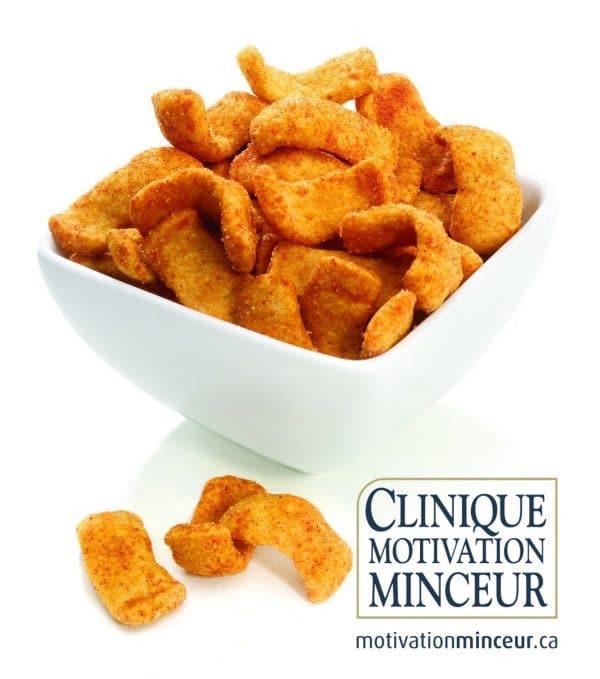 Healthy snack crisp BBQ (1bag)