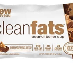 "NEW ""Clean fats"" bites peanut butter"