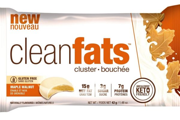 "NEW ""Clean fats"" bites maple."