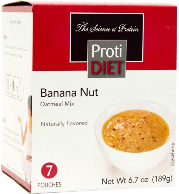 Protein oatmeal banana and nuts  (7/box)