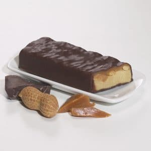 Protein bars caramel and peanuts (7/box)