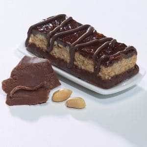Protein bars chocolate and peanuts  (7/box)