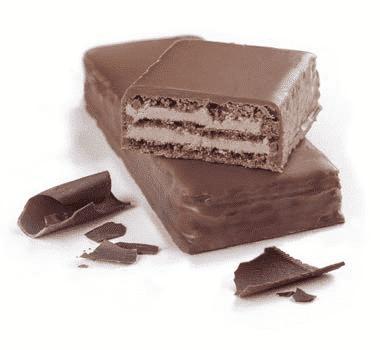 Gaufrettes ProtiDiet protéinée au chocolat (7/boîte)