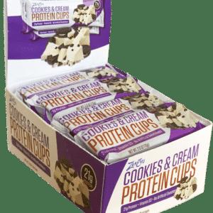 Coupes protéinées biscuit et crème (12 unités)